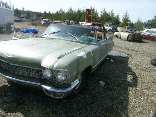 Cadillac Junk Yards